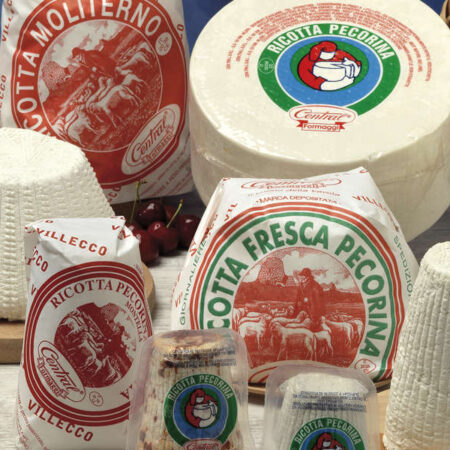 Ricotta Cheeses packaged